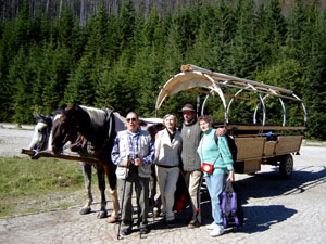 Morskie Oko Lake Horse Carriage